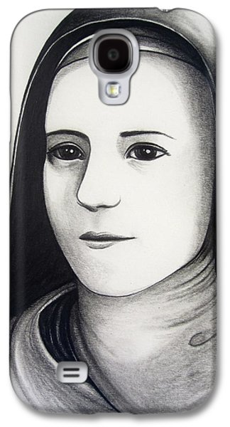 St. Therese Of Lisieux Galaxy S4 Case by Mary Ellen Frazee