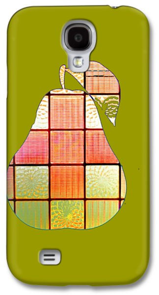 Stained Glass Pear Galaxy S4 Case