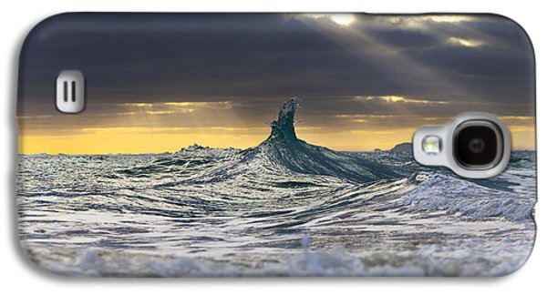 Stair-wave To Heaven Galaxy S4 Case by Sean Davey