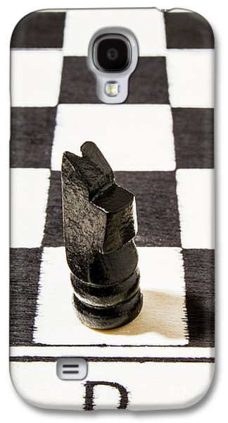 Knight Galaxy S4 Case - Stand Up For The Dark Horses by Jorgo Photography - Wall Art Gallery