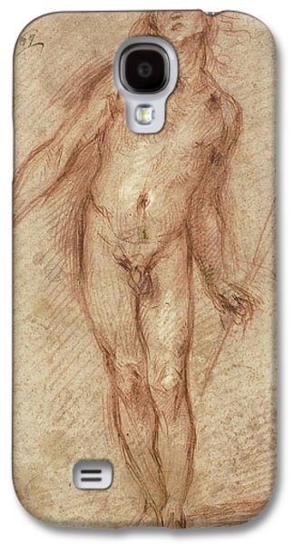Standing Male Nude Galaxy S4 Case