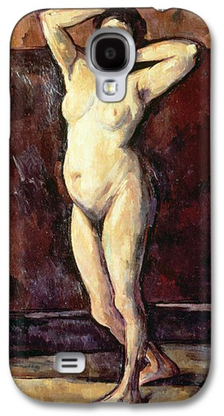 Standing Nude Woman Galaxy S4 Case by Cezanne