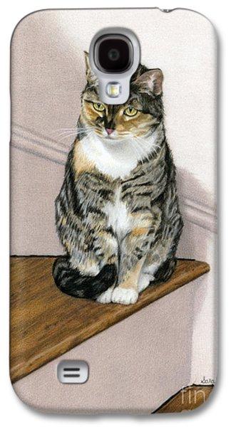 Stanzie Cat Galaxy S4 Case by Sarah Batalka