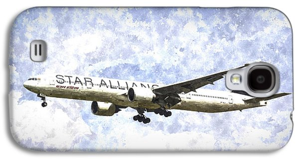 Star Alliance Boeing 777 Art Galaxy S4 Case