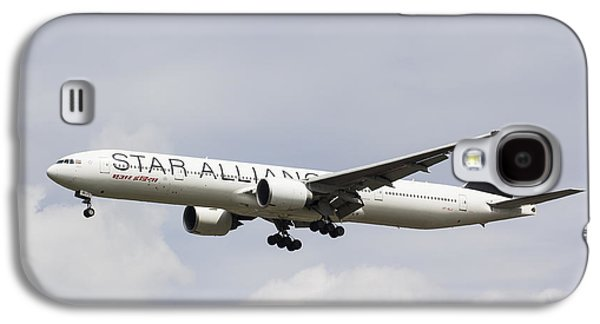 Star Alliance Boeing 777 Galaxy S4 Case by David Pyatt
