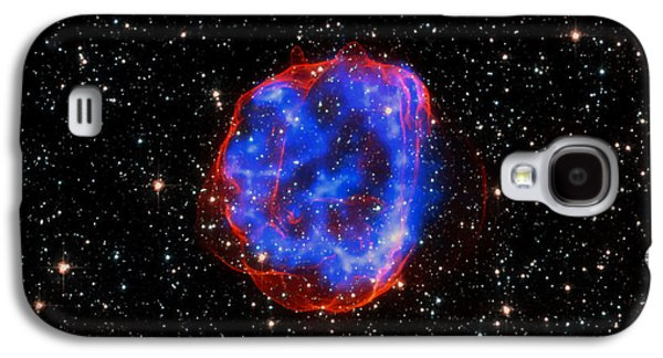 Star Explosion In The Large Magellanic Cloud Galaxy S4 Case by Mountain Dreams