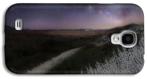 Galaxy S4 Case featuring the photograph Star Flowers by Bill Wakeley
