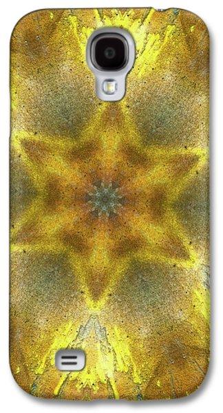 Star Kaleidoscope Galaxy S4 Case by Wim Lanclus