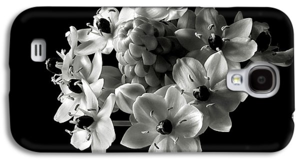 Star Of Bethlehem In Black And White Galaxy S4 Case by Endre Balogh