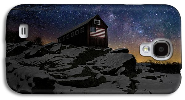 Galaxy S4 Case featuring the photograph Star Spangled Banner by Bill Wakeley