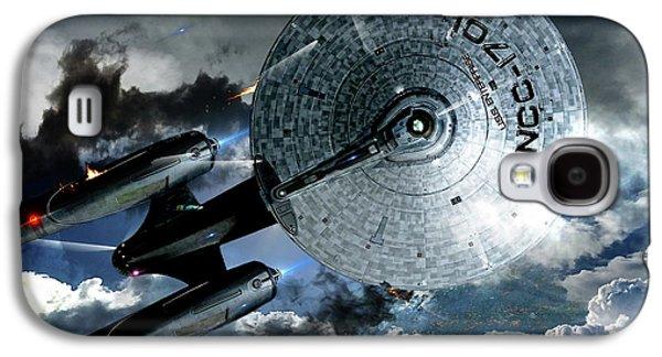 Star Trek Into Darkness, Original Mixed Media Galaxy S4 Case by Thomas Pollart