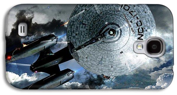 Star Trek Into Darkness, Original Mixed Media Galaxy S4 Case