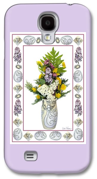Star Vase With A Bouquet From Heaven Galaxy S4 Case by Lise Winne