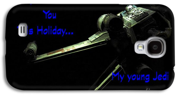 Star Wars Birthday Card 5 Galaxy S4 Case by Micah May