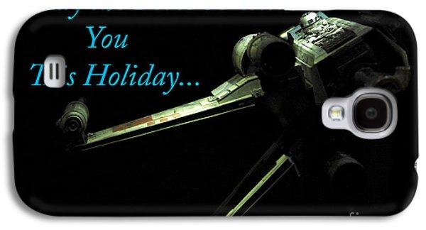 Star Wars Birthday Card 6 Galaxy S4 Case by Micah May