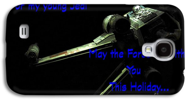 Star Wars Birthday Card 7 Galaxy S4 Case by Micah May