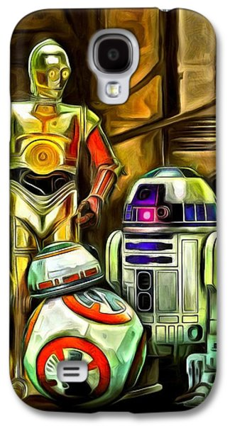 Star Wars Droid Family Galaxy S4 Case