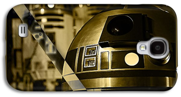 Star Wars R2d2 Collection Galaxy S4 Case by Marvin Blaine