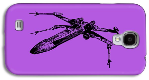 Star Wars T-65 X-wing Starfighter Tee Galaxy S4 Case