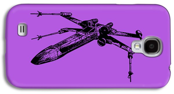 Star Wars T-65 X-wing Starfighter Tee Galaxy S4 Case by Edward Fielding