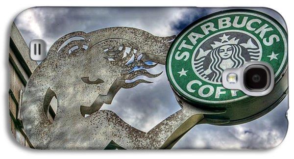Espresso Galaxy S4 Cases - Starbucks Coffee Galaxy S4 Case by Spencer McDonald