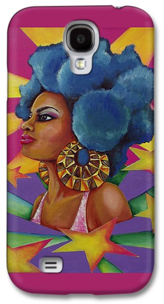 Starburst Galaxy S4 Case by Kimberly Lewis