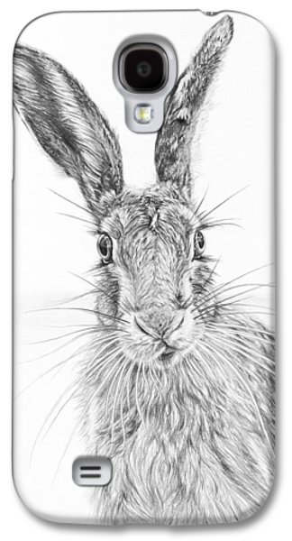 Stare Of The Hare Galaxy S4 Case by Frances Vincent