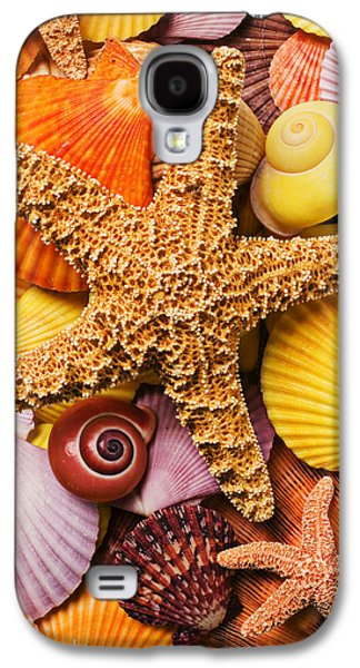 Starfish And Seashells  Galaxy S4 Case by Garry Gay