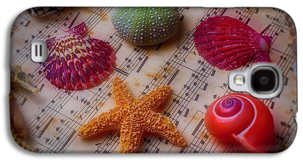 Starfish On Sheet Music Galaxy S4 Case