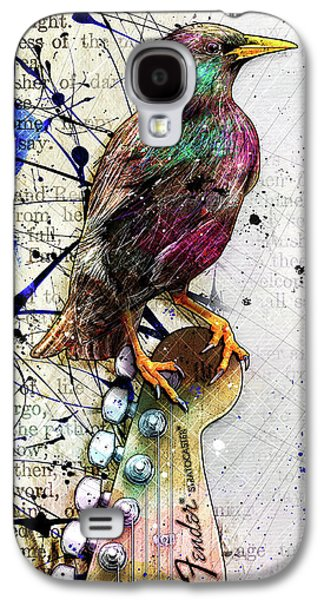 Starling On A Strat Galaxy S4 Case