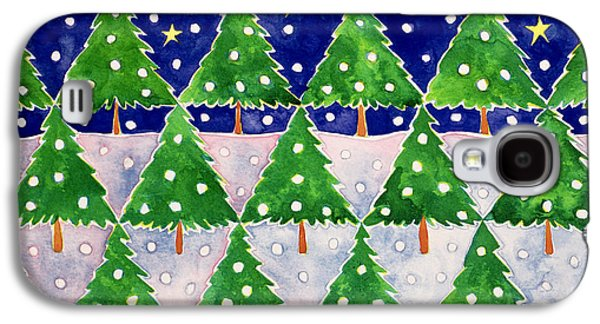 Stars And Snow Galaxy S4 Case by Cathy Baxter