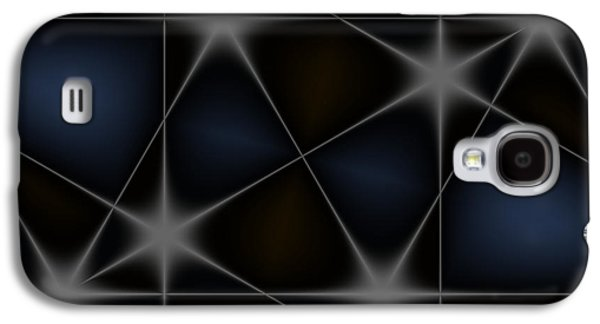 Stars Galaxy S4 Case by Contemporary Art