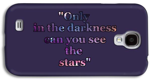 Stars In The Darkness Galaxy S4 Case by Anastasiya Malakhova