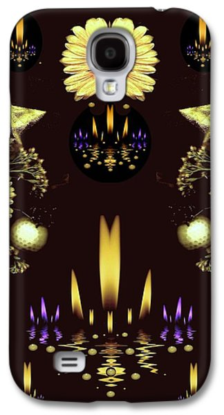 Stars Over The Sacred Sea Of Candles Galaxy S4 Case by Pepita Selles