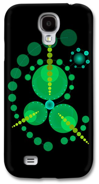 Starship Color Galaxy S4 Case by DB Artist