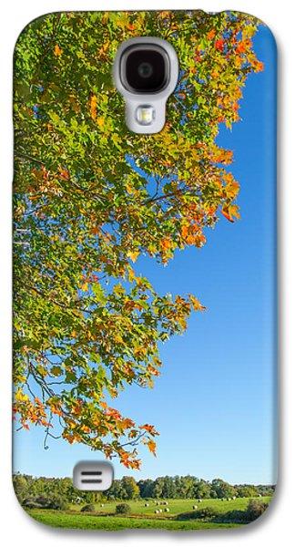 Start Of Autumn Galaxy S4 Case by Karol Livote