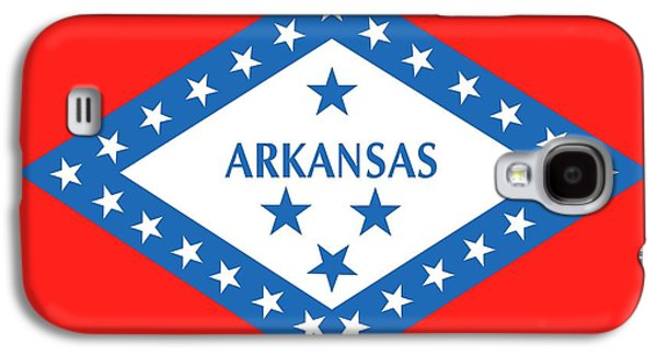 State Flag Of Arkansas Galaxy S4 Case