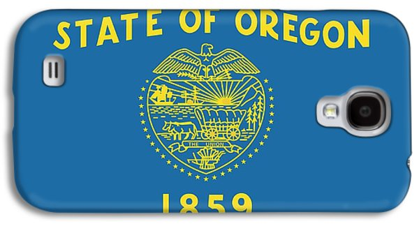 State Flag Of Oregon Galaxy S4 Case by American School