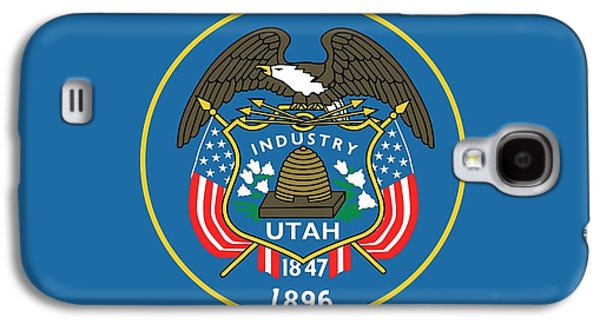 State Flag Of Utah Galaxy S4 Case