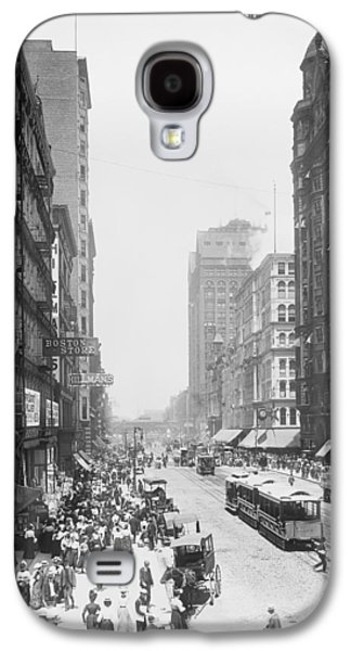 State Street - Chicago 1900 Galaxy S4 Case by Daniel Hagerman