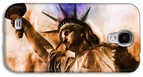 Statue Of Liberty 002 Galaxy S4 Case by Gull G