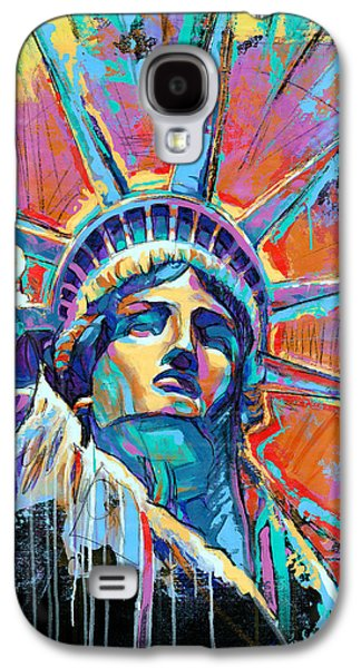 Statue Of Liberty New York Art Usa Galaxy S4 Case