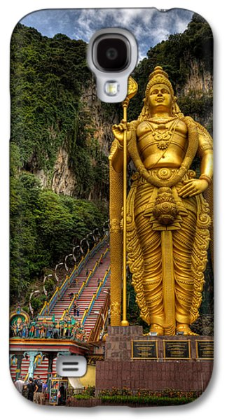 Rail Digital Galaxy S4 Cases - Statue of Murugan Galaxy S4 Case by Adrian Evans
