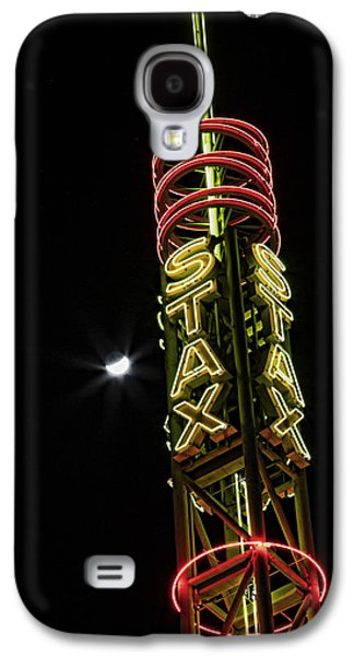 Stax Records Tower And Moon Galaxy S4 Case by Stephen Stookey