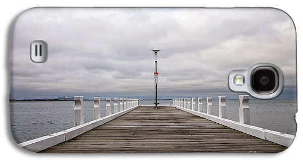 Galaxy S4 Case featuring the photograph Steampacket Quay by Linda Lees