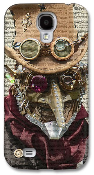 Steampunk Robot Galaxy S4 Case by Jacob Kuch