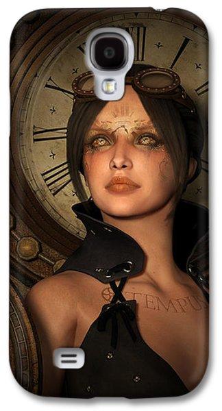 Steampunk Time Keeper Galaxy S4 Case by Britta Glodde