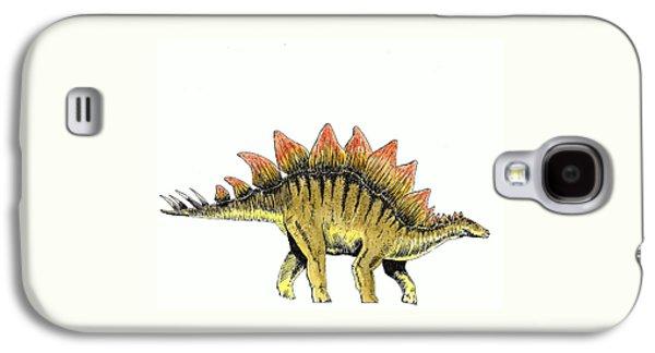Stegosaurus Galaxy S4 Case