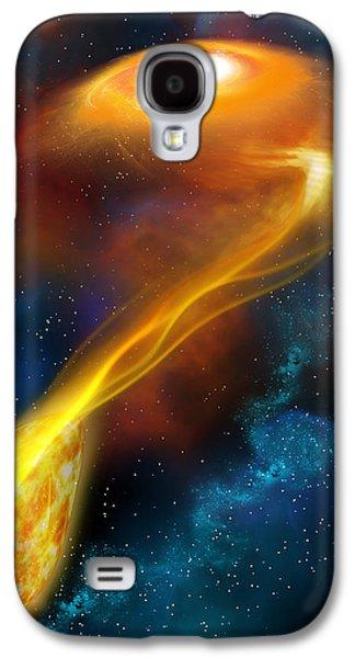 Stellar Cannibalism Galaxy S4 Case