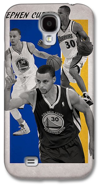 Stephen Curry Golden State Warriors Galaxy S4 Case